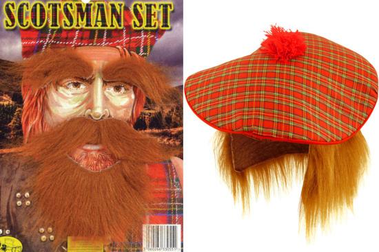 Ginger Beard Moustache