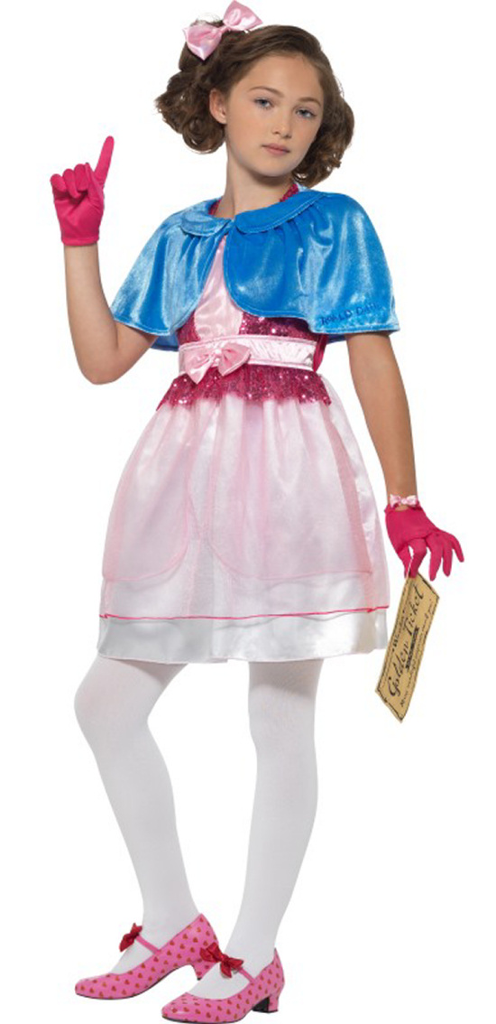 Children/'s Chocolate Factory Fancy Dress Book Day Costume Ages 4-12 years Dahl