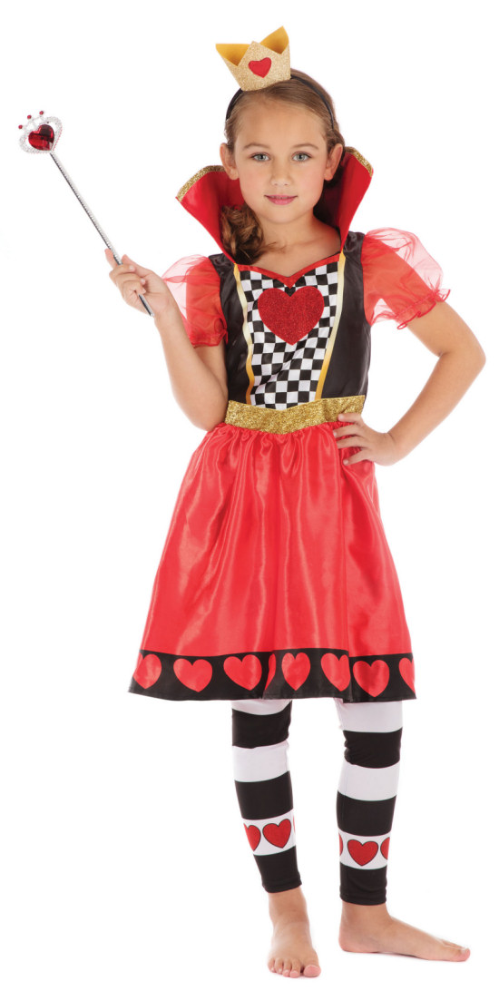 FANCY DRESS GIRLS ALICE OUTFIT WONDERLAND 3 SIZES AGES 4-12